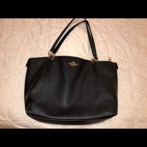 black Coach purse, coach purse, designer purse